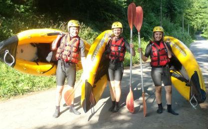 airyak pays basque eaux vivrs faire du kayak gonflable en rivière