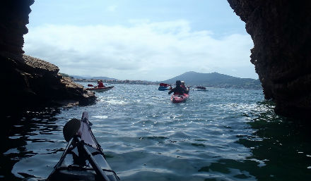 kayak de mer pays basque rafting pays basque