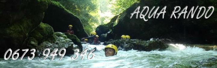 Aqua rando pays basque, randonnée aquatique dans les riviéres du pays basque