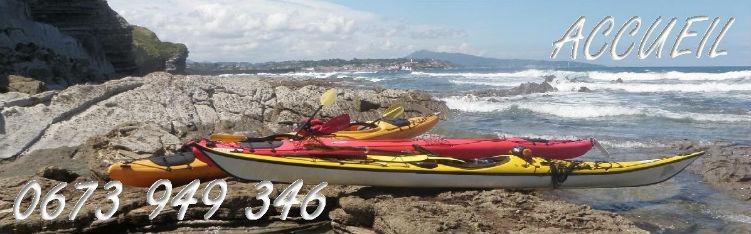 accueil rafting et kayak de mer au pays basque