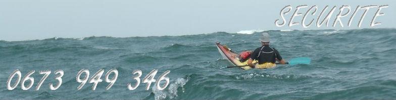 sécurité en kayak de mer exercice de sécurité en kayak de mer au pays basque