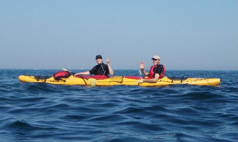 kayak de mer pays basque randonnée en kayak de mer au pays basque
