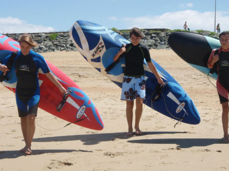 kayak de vagues au pays basque