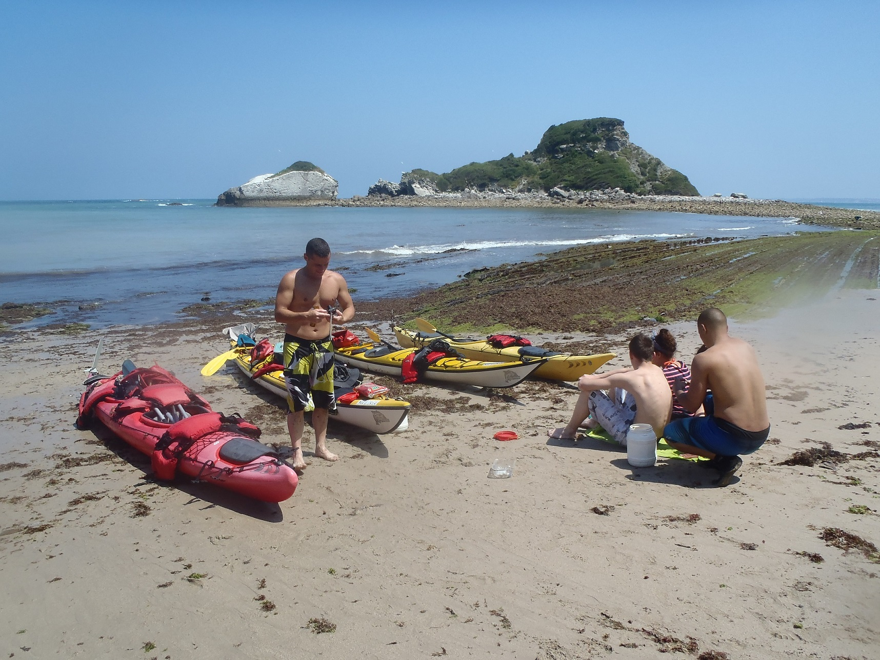 kayak-de-mer pays-basque rafting canoraft