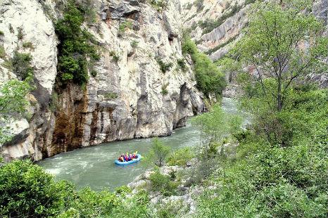 rafting avec nckd en espagne sur le rio pallaressa