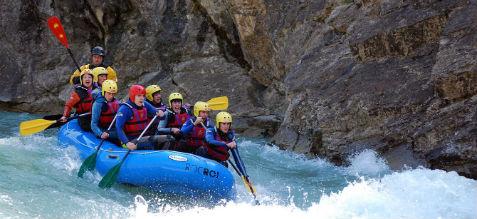 rafting en espagne rio gallego